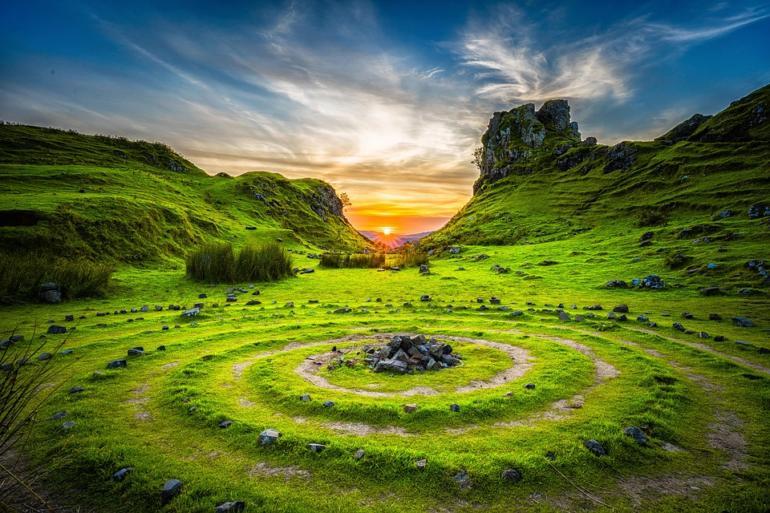 Magie Slunce - spirituální světlo
