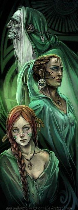 Čarodějka uvnitř nás - vědomí přírody
