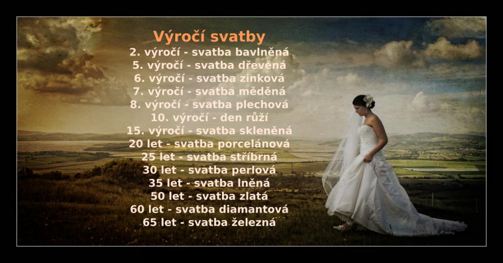 Svatební výročí