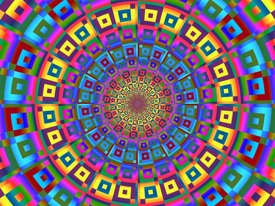 Charakteristika a vibrační energie barev