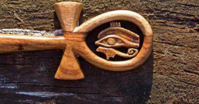 Hieroglyf - Nilský kříž - tvarový zářič