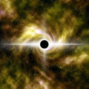 Magické černé díry a nekonečno
