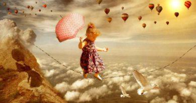 Vzdušné sny - projekce podvědomí