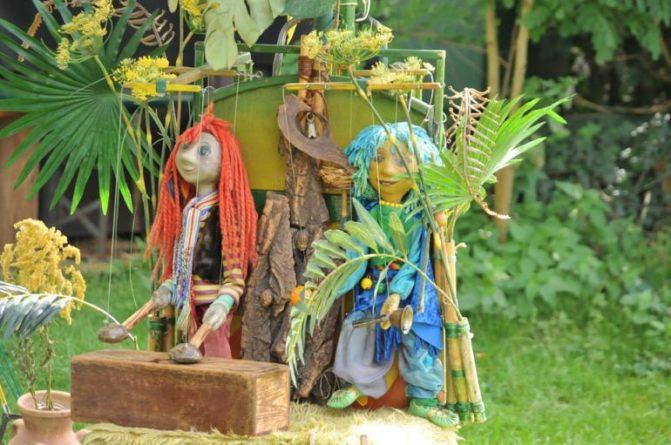 Čarodějná zahrada a magie čtyřlístku