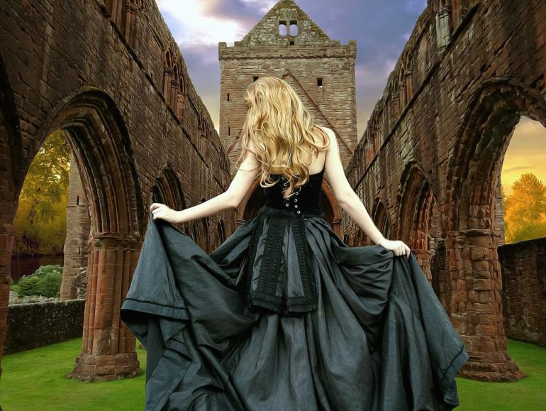 Čarodějnické doupě a rituální koště