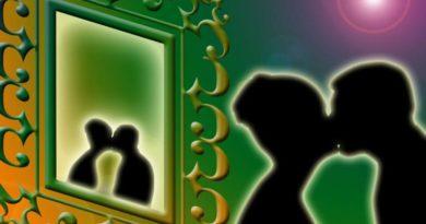 Rituál zrcadlení - vizualizace