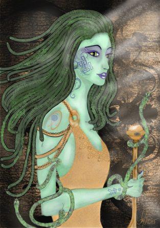 Hadí legendy a odvážné hadí ženy