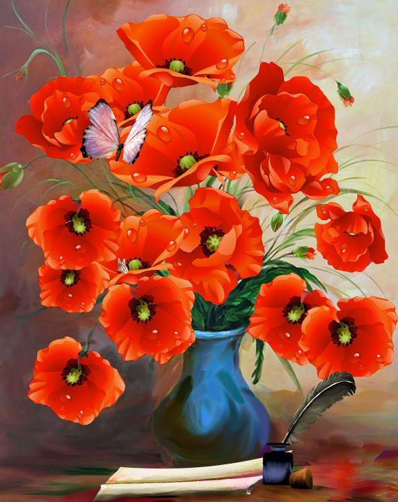 poppies-1791990_1920