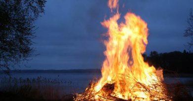 Základní rituál ohnivého živlu