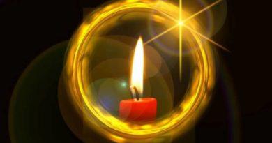 Meditace se svíčkou - vnitřní zrak