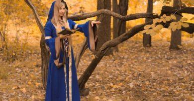 Pohodlný rituální oděv