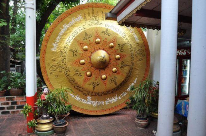 Energie zvonů, bubnů a tibetské mísy