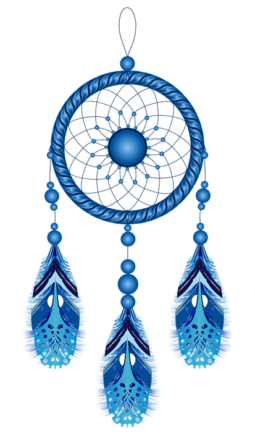 Indiánský amulet - lapač snů