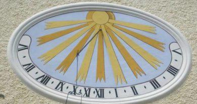 Sluneční hodiny - inspirace