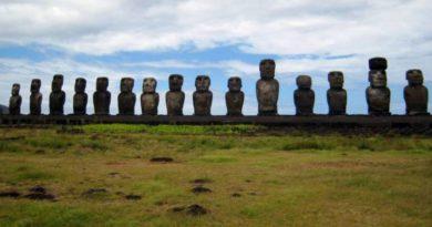 Tichomoří - tajemný ostrov Rapanui