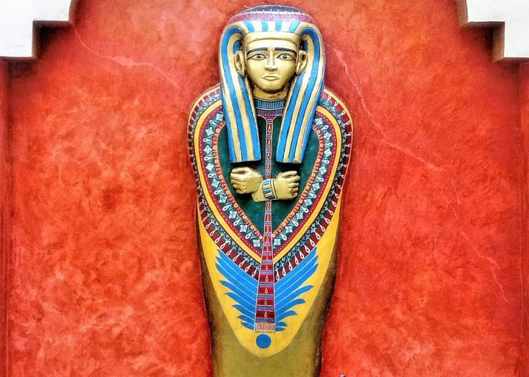 Sarkofág - egyptský symbol