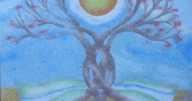 Pískové mandaly s reiki
