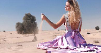 Symbol pouště - cesta duše