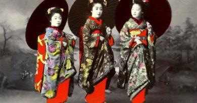 Japonská tradice -  gejša
