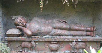 Meditační poloha Buddhy