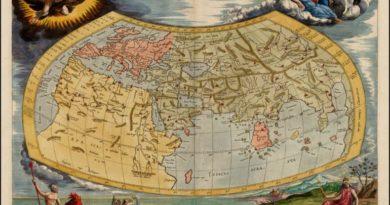 Krásné staré zeměpisné mapy