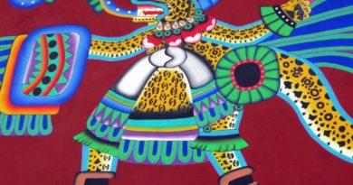 Aztécké a mayské symboly