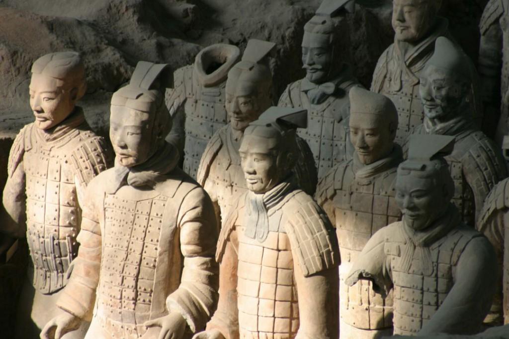 Terakotová armáda - Čína