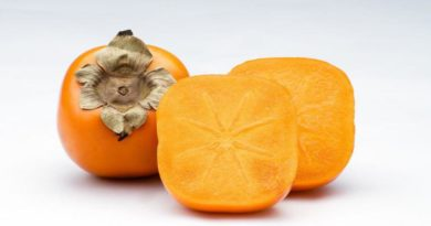 Ovoce kaki - vitamín A