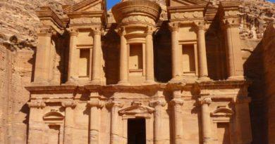 Pouštní město Petra