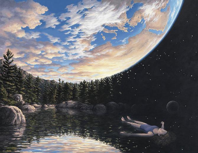 """Médium voda a """"nebeský internet"""""""
