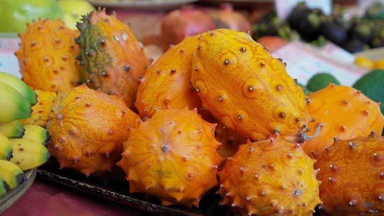 Kiwano - africká rohatá okurka