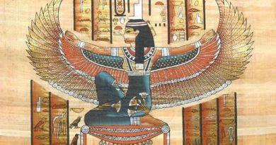 Bohyně Isis, patronka ženského principu