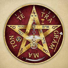 Tajemství pentagramu a tetragrammaton