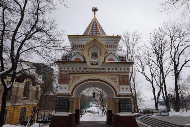 Otevřené brány - triumfální oblouky