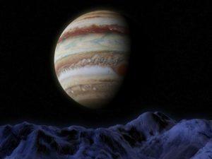 """Jupiter """"putuje"""" vodním znamením Štíra"""