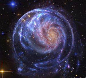 Zrodil se velký disk, podobný Galaxii