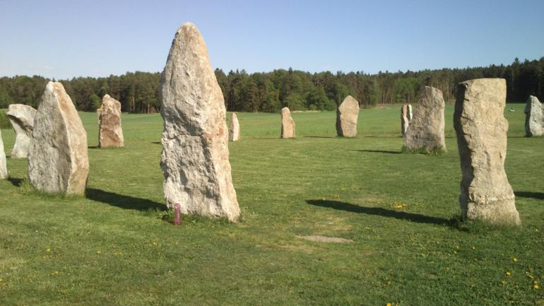 Kamenný kruh na jihu Čech - Holašovické Stonehenge