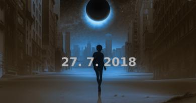 Zatmění Měsíce a vnímání energie Země