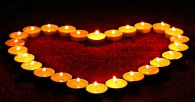 Čakry, barvy, světlo a léčení pomocí svící