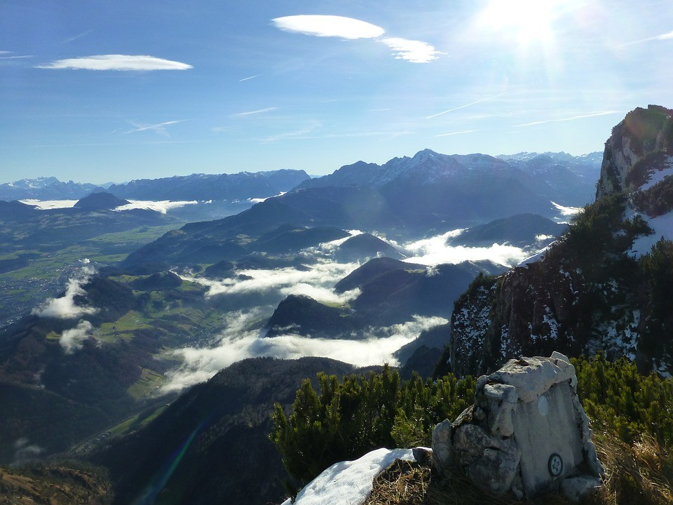 Alpské pohoří Untersberg - srdeční čakra světa?
