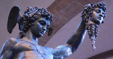 Perseus a Andromeda - bájné postavy z řecké mytologie