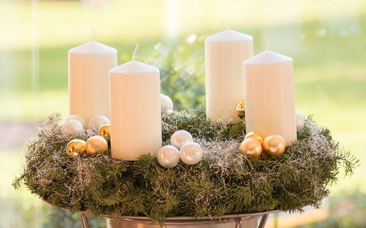 Adventní čas a symbolika vánočního věnce