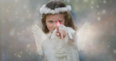 Andělské požehnání pro zemi Bohem milovanou